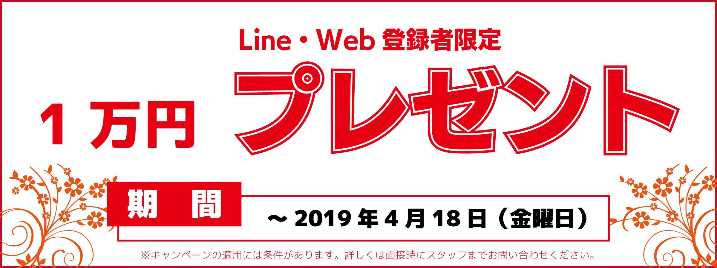 1万円キャッシュバックキャンペーン